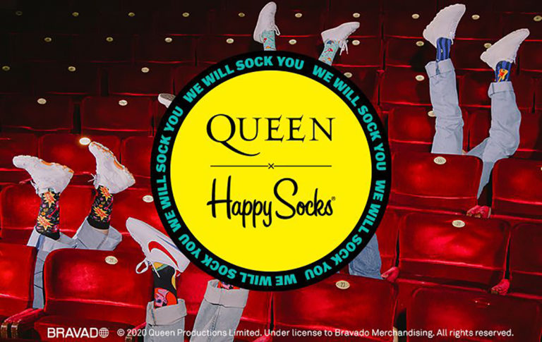 Queen, We Will Socks You en mode chaussettes